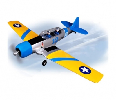 радиоуправляемый самолет phoenix model at6 texan .46-.55 arf - ph048