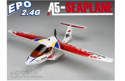 радиоуправляемый самолет art-tech a5 seaplane epo - 2.4g (21421)