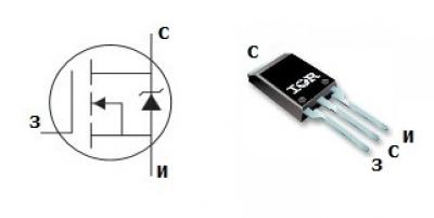 MOSFET транзистор IRLBA3803P