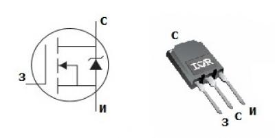 MOSFET транзистор IRFPS3815