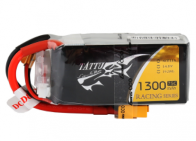 tattu racing series 1300mah 4s 75c