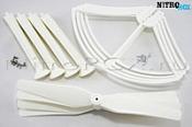Комплект белый SYMA X8HC, X8HW, X8HG