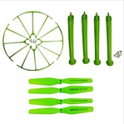 Комплект зеленый SYMA X5H, X5HW, X5HC