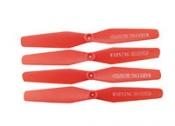 Пропеллеры красные SYMA X54HW, X54HC