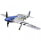радиоуправляемый самолет dynam mini p-51d rtf - 2.4g (dy8964)