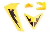 Хвостовое оперение желтое SYMA S107-03-Y