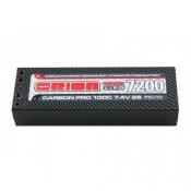 Carbon Pro LiPo 7,4В(2s) 7200mAh 100C Hard Case Tubes