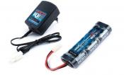 Combo Rocket Ni-Mh 7,2В(6s) 1800mAh Soft Case Tamiya plug