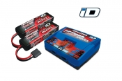 EZ-Peak Plus 4-amp NiMH/LiPo (Dual Output) + 2 Batteries 11.1V 5000mAh