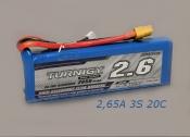 Turnigy 2650mAh 11,1v 20C.