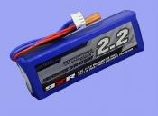Аккумулятор Li-Po для передатчика Turnigy 9XR 11.1v 2,2Ah 1,5C с защитой.