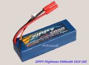 ZIPPY 5000mAh 3S 20C в твердом корпусе
