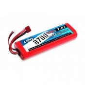Li-Po 7.4V(2s) 3700mAh 45C Deans Plug Hard Case Stick