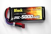 LiPo 14,8В(4S) 5000mAh 25C Soft Case Deans plug