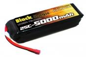LiPo 22,2В(6S) 5000mAh 25C Soft Case Deans plug