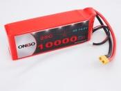 ONBO 10000mAh 4S 25C Lipo Pack