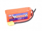 ONBO 1400mAh 3S 25C Lipo Pack