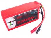 ONBO 22000mAh 6S 20C Lipo Pack