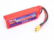 ONBO 2200mAh 3S 45C Lipo Pack