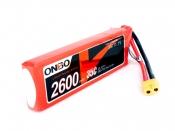 ONBO 2600mAh 3S 35C Lipo Pack