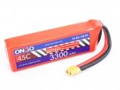ONBO 3300mAh 4S 45C Lipo Pack