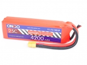 ONBO 4200mAh 3S 25C Lipo Pack
