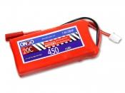 ONBO 450mAh 2S 20C Lipo Pack