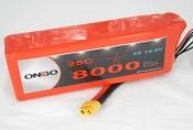 ONBO 8000mAh 4S 25C Lipo Pack