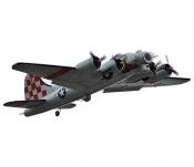 Радиоуправляемый самолет FreeWing B-17 Flying Fortress PNP 2.4G - F2601B