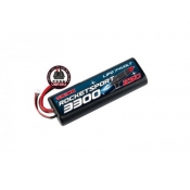 Rocket Sport LiPo 7,4В(2s) 3300mAh 25C Hard Case Venom Uni Plug