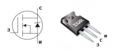 MOSFET транзистор IRFP1405