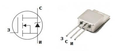 MOSFET транзистор IRFY240