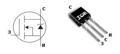 mosfet транзистор irf1010zl