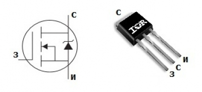 mosfet транзистор irf1324l