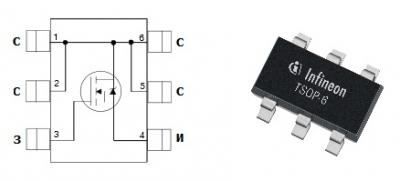 MOSFET транзистор IRLMS1503