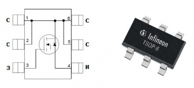 MOSFET транзистор IRFTS8342